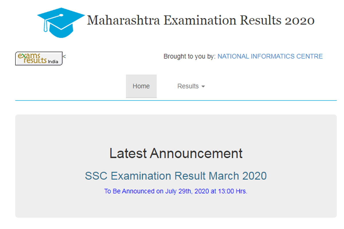 SSC results 2020, Maharashtra result, Class 10 results 2020, mahresult.nic.in