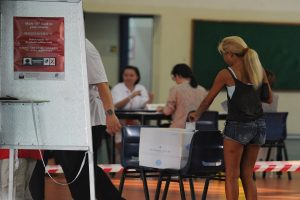 Voting underway for Singapore general elections