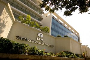 TCS shares slip after its profit declines in June quarter
