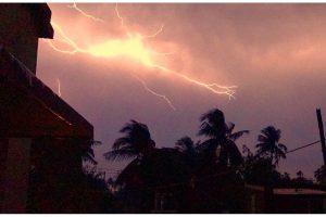 Lightning kills three in Raiganj