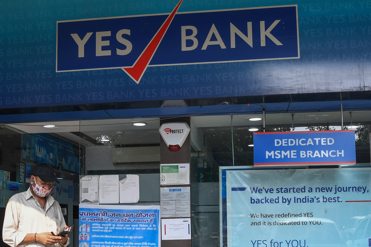 Yes Bank shares, June quarter results, FPO, Q1