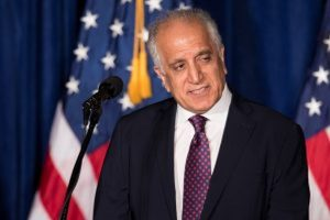 US envoy Zalmay Khalilzad holds talks with Pak FM on Afghan peace process