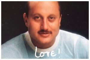 Anupam Kher shares his fantasy of sending autographed pics like in the old days