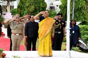 Anandiben Patel holds additional charge as acting Governor of Madhya Pradesh