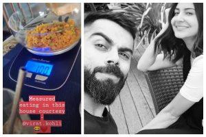 Watch | Anushka Sharma shares sneak peek into Virat Kohli's 'measured eating'