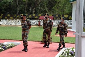 Army's Western Command chief Lt General RP Singh reviews security situation in Jammu division