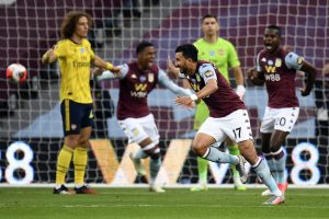 Premier League: Arsenal fall from last week's high as Aston Villa win 1-0 to get out of relegation zone