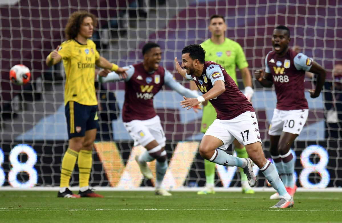 Premier League Arsenal Fall From Last Week S High As Aston Villa Win 1 0 To Get