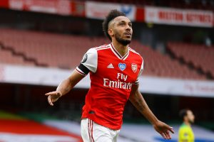 Exciting time to be at Arsenal, says Aubameyang after Community Shield win against Liverpool
