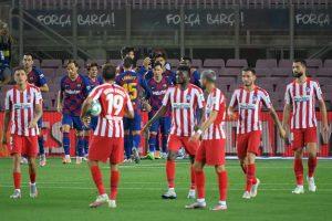 La Liga: Barcelona held by Atletico Madrid, fail to overtake Real Madrid