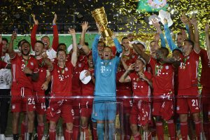 Bayern Munich defend German Cup title with 4-2 win over Bayer Leverkusen