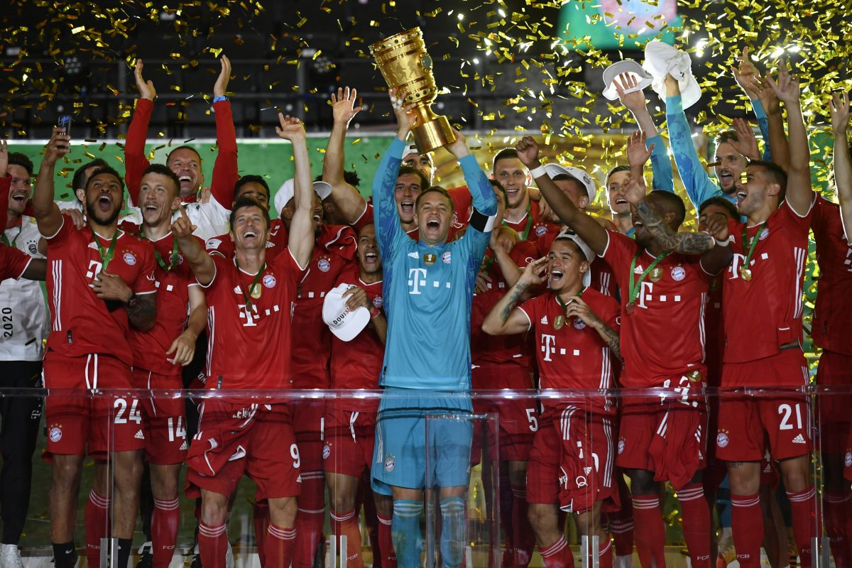 Bayern Munich defend German Cup title with 4-2 win over Bayer ...