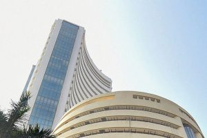 Sensex up 420 points as Infosys soars 10%; Nifty touches 10,740 mark