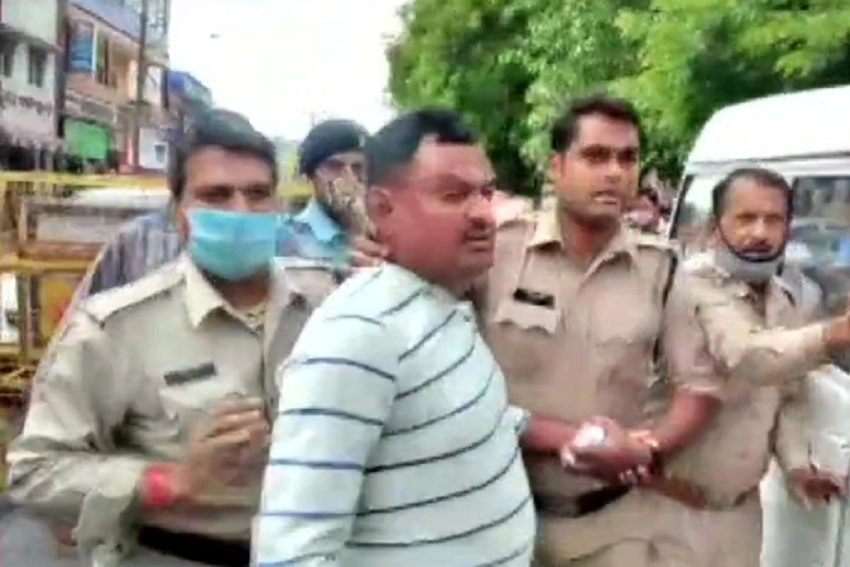 A day before Vikas Dubey's killing, petition in SC apprehended gangster's encounter