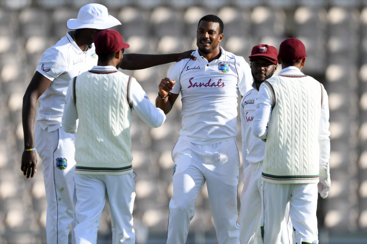 West Indies' Tour of England 2020, England vs West Indies 1st Test, Alzarri Joseph, Shanon Gabriel, ENG vs WI, ENG vs WI 1st Test, Jason Holder five wicket haul, jason holder since 2018, eng vs wi 1st test, eng vs wi day 4