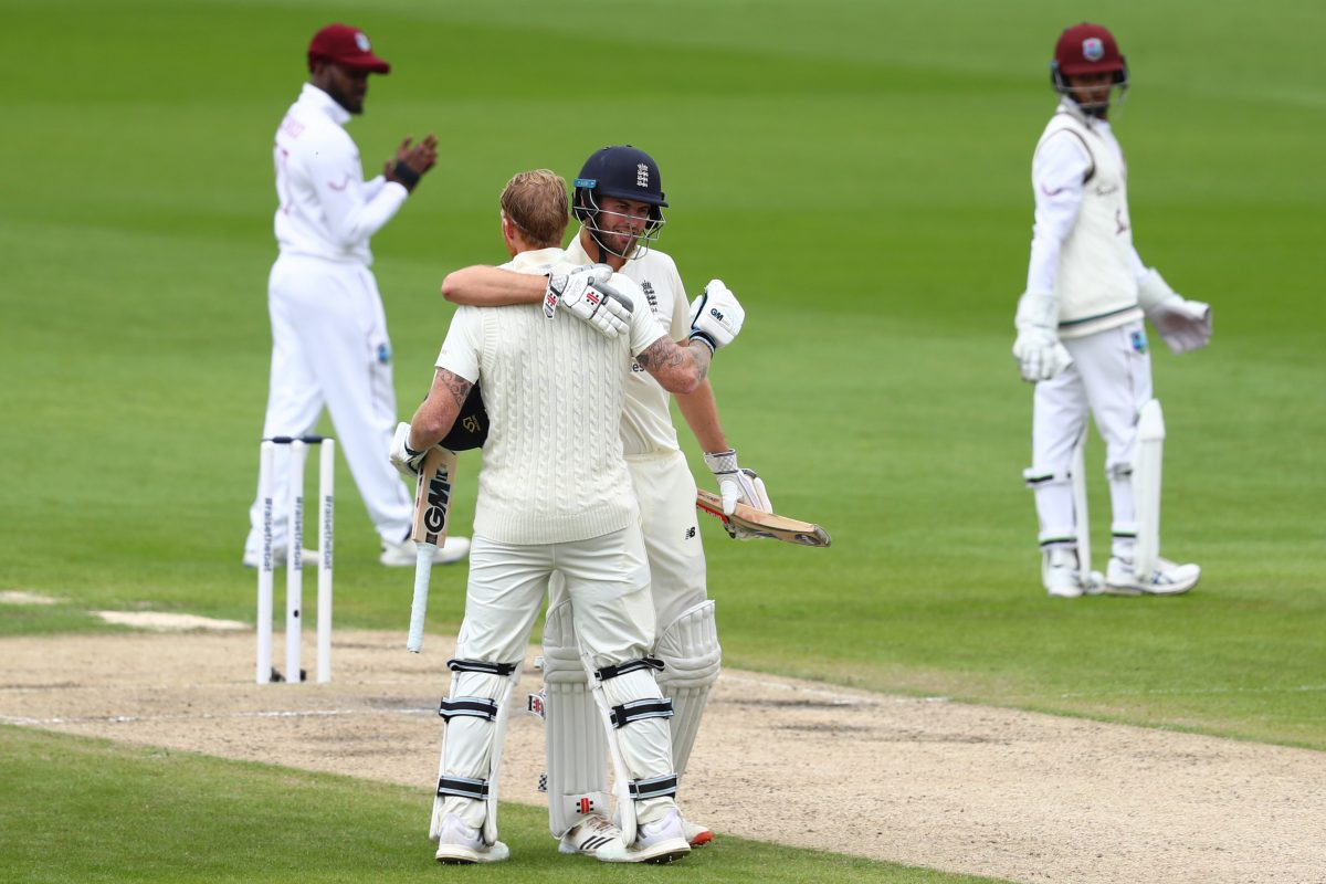 Ben Stokes, Dom Sibley centuries put England in command