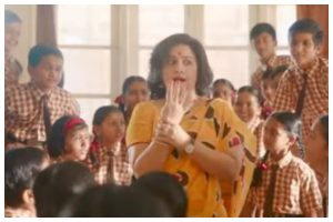 Watch | Vidya Balan launches first song of Shakuntala Devi titled 'Pass Nahin To Fail Nahin'