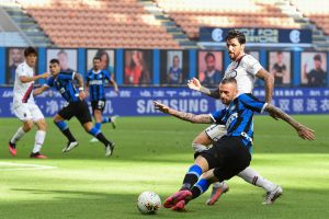 Serie A: Inter Milan held by Verona 2-2, drop to fourth place