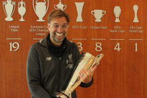 Liverpool boss Jurgen Klopp wins LMA Manager of the Year award for 2019-20 season