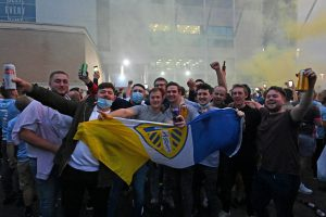Last century's giants Leeds United promoted to English Premier League after 16 years