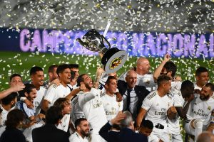 Real Madrid crowned La Liga 2019-20 champions as Karim Benzema scores brace against Villarreal