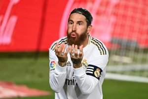 La Liga: Sergio Ramos penalty takes Real Madrid four points clear at top ahead of Barcelona