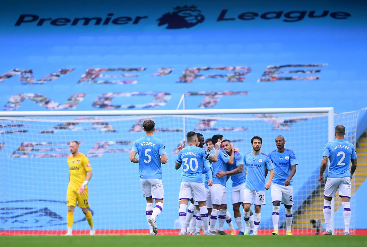 English Premier League 2019-20, Manchester City, Bournemouth, Manchester City vs Bournemouth,