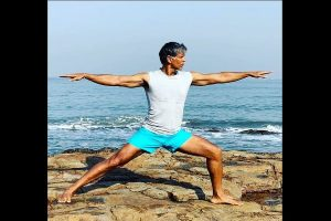 Milind Soman celebrates turning 55 in birthday suit
