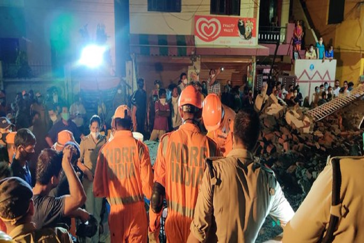 Uttarakhand: At least 3 killed, 3 rescued alive after building collapses in Dehradun