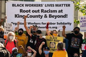 Thousands of US workers in over 200 cities walk out in 'Strike For Black Lives'