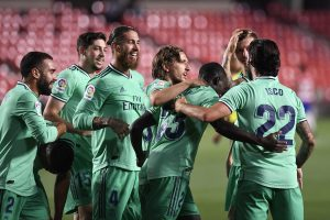 Real Madrid one victory away from winning La Liga 2019-20 after beating Granada 2-1