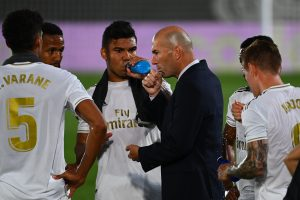 La Liga: Real Madid one step away from title glory after beating Alaves 2-0