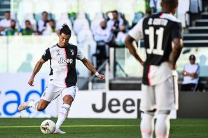 Cristiano Ronaldo was 'waiting' to score first free-kick goal for Juventus