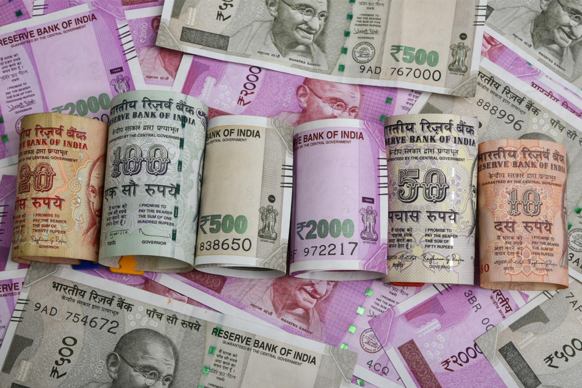 US dollar, Indian Rupee, domestic equity