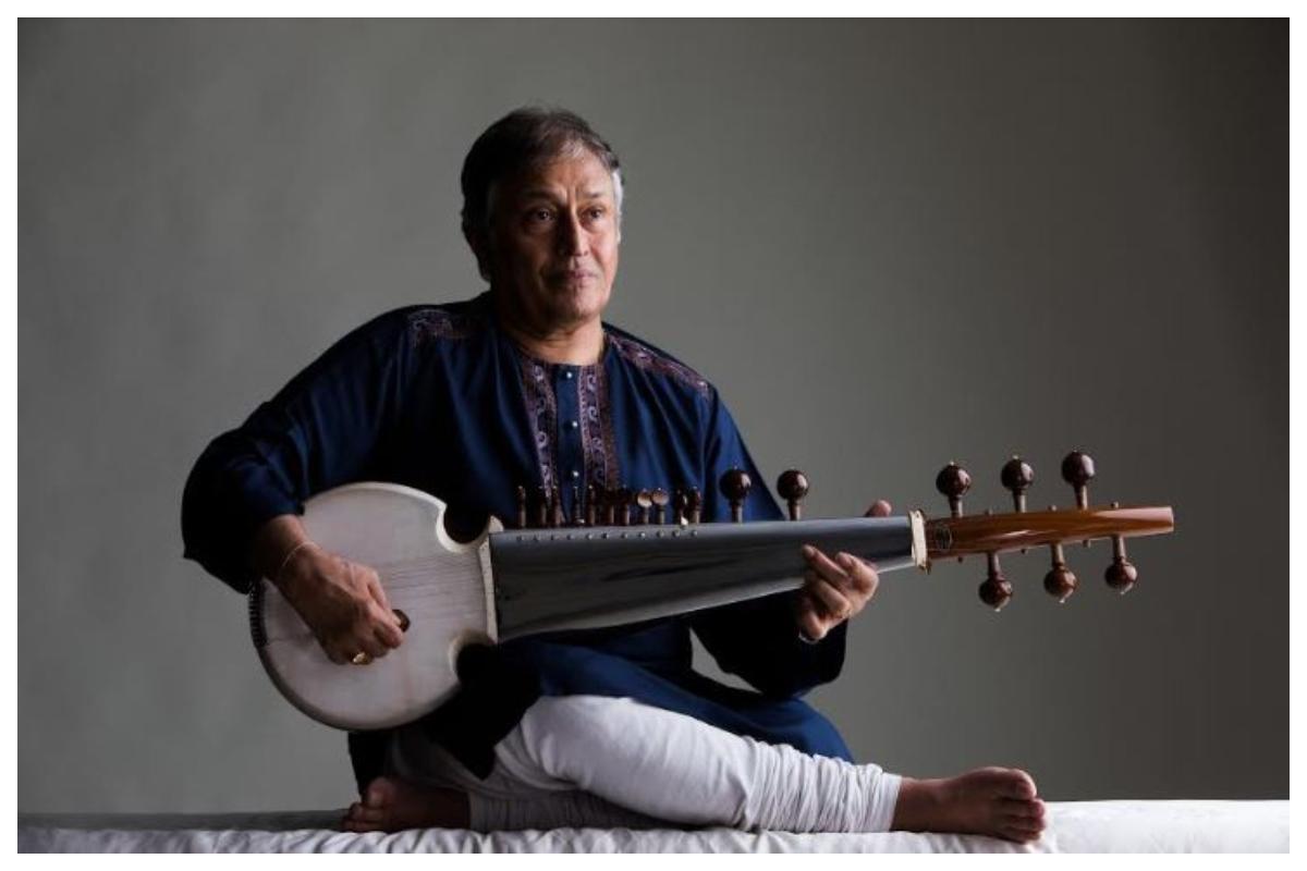 Strings for Peace, Amzad Ali Khan, Sarod maestro