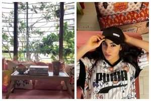 Sara Ali Khan gives us a sneak-peek into her happy place; see pics