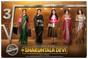 Vidya Balan's 'Shakuntala Devi' released; netizens give thumbs up