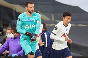Tottenham Hotspur players Son Heung-Min, Hugo Lloris engage in ugly spat during 1-0 win over Everton