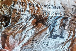 Indian newspapers from 1966 plane crash found on melting French glacier