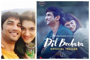Dil Bechara: 'Really hard to watch Sushant Singh Rajput's last film,' says Kriti Sanon