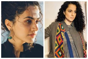'Someone is concerned about our bills': Taapsee Pannu takes a dig at Kangana Ranaut