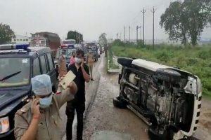 'Actually, car didn't overturn…': Opposition slams UP govt over Vikas Dubey's 'encounter'