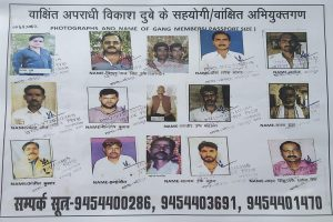 Vikas Dubey case: Police release pictures of gangster's accomplices