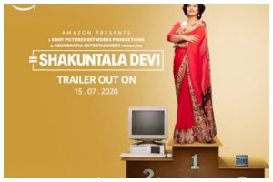 Watch | Vidya Balan's 'Shakuntala Devi's trailer to be out on July 15
