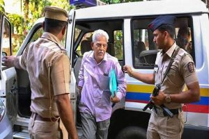 Activist Varavara Rao denied bail, family pleads 'He is bedridden'