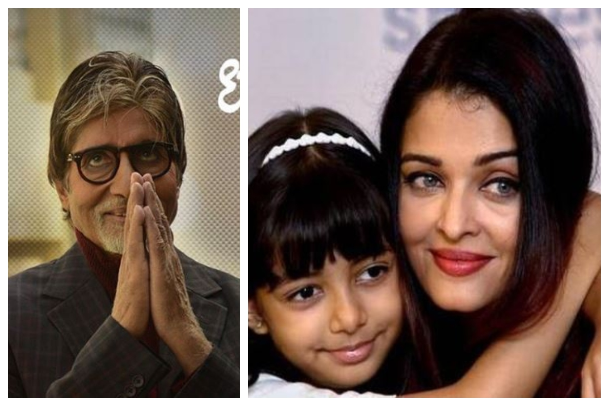 Amitabh Bachchan, Aishwarya Rai Bachchan, Aaradhya Bachchan