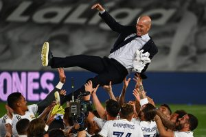 Real Madrid manager Zinedine Zidane 'extremely happy' after 'sepcial' La Liga title win
