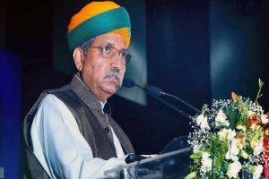 Union Minister Arjun Ram Meghwal who promoted 'papad' brand to fight Coronavirus, tests positive