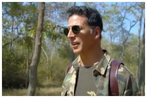 Akshay Kumar shares sneak-peek of his adventure on 'Into The Wild' with Bear Grylls