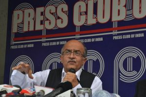 'Regretted error': Prashant Bhushan on his tweet on Chief Justice of India
